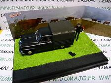 altaya IXO 1/43 diorama route bleue RN7 SIMCA aronde intendante pick-up bâché