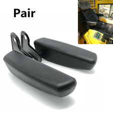 Universal Pair Black PU Leather Car Truck Seat Armrest Console Box For Car Seat
