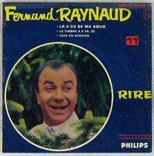 Fernand Raynaud 45 tours La 2 CV de ma soeur 1961