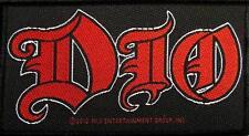 """DIO patch/écusson # 12 """"Logo"""""""