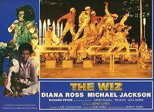 DIANA ROSS MICHAEL JACKSON THE WIZ 1970 VINTAGE PHOTO FRENCH LOBBY CARD N°6 MINT