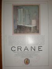 Crane Bathrooms US advert 1925