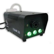 Flash FLM-600 Nebelmaschine LED GRÜN mit FLAME-Effekt Nebel Show Fogger Effekt