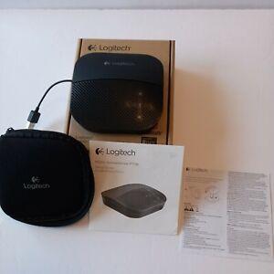 Logitech P710e Mobile Speakerphone with Enterprise-Quality Audio, New Open box.
