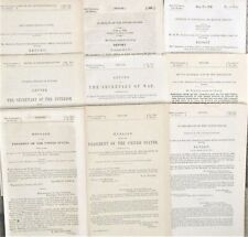 Collection Indian Reports Government 19th Century Kansas Creek Osage 1844-1900