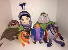 Monsters Inc & University Plush Toy Assorted Lot Various Characters Disney Store