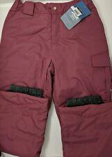 NEW White Sierra Girl's Cruiser Pants, Crushed Grape Youth XL