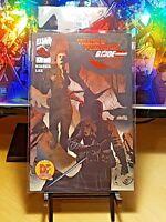 TRANSFORMERS G.I. JOE  #1 Dynamic Forces Exclusive RED FOIL! Jae Lee Dreamwave