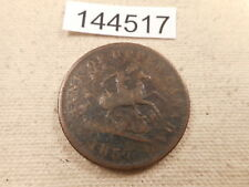 1857 Bank of Upper Canada One Penny Token Nice Grade Album Coin - # 144517 Raw