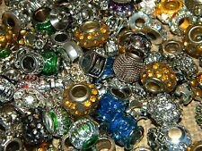 NEW 10/pc Large Hole Fancy spacer charm European Beads LOT(1lm)