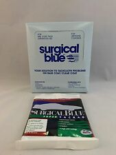 """SURGICAL BLUE Tack Cloth Set of 12 18"""" X 36"""" For Primers and Top Coats Free Ship"""