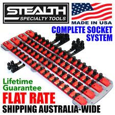 STEALTH Complete Socket System Secure Magnetic Storage Twist Lock Clips on Rails