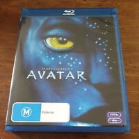 James Cameron Avatar Bluray LIKE NEW! FREE POST