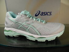NEW Asics Gel Kayano 23 GLACIER GREY/Green Women's Sneakers US Sizes