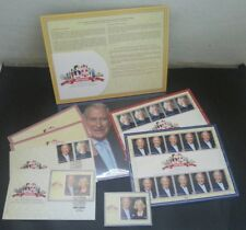 Empty Malaysia 2017 Prince Charles Royal Visit Folder, no stamp Ms FDC Sheetlet