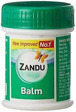 Zandu Balm 2x 25ml Ayurvedic Pain Balm Herbal Lot of 2 Tubs