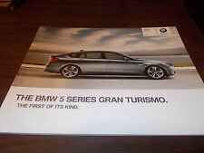 2010 BMW 5-Series Gran Turismo 68-Page Deluxe Sales Catalog