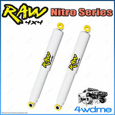 "Ford Courier PC PD PE 4WD RAW Rear Nitro Gas Shock Absorbers 2"" 0-50mm Lift"