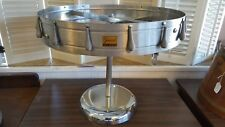 San Jamar Gourmet CK6016P Stainless Steel 16 Clip Check Wheel with Pedestal