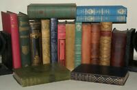 17x Various BOOKS Shelf Fillers- Various Colours Etc, Collectable.