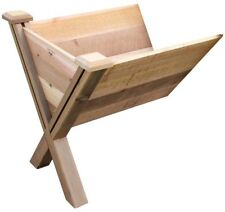Garden Wedge Extension 30 in. x 34 in. x 32 in. Wood Rectangle Dovetail Design