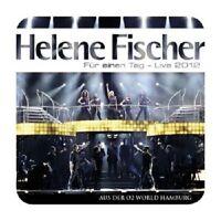 HELENE FISCHER - FÜR EINEN TAG-LIVE 2012 2 CD BEST OF SCHLAGER POP NEU