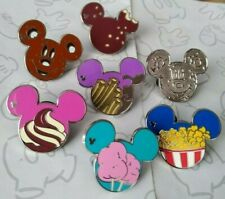 New listing 2015 Hidden Mickey Food Series Set Dlr Mouse Icon Choose a Disney Pin