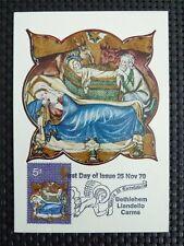 GB UK MK 1970 CHRISTMAS BETHLEHEM MAXIMUMKARTE CARTE MAXIMUM CARD MC CM c5073