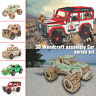 Car Series 3D Wooden Puzzle Jigsaw Woodcraft Kids Toy Model DIY Construction UK