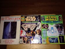 Star Wars Technical Journal Books Planet Tatooine/Rebel Forces Rare!!