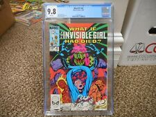 What If 42 cgc 9.8 Fantastic Four 1983 Invisible Girl had Died WHITE pgs NM MINT