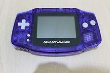 Azul de medianoche Ltd Edition Game Boy Advance Consola buenas condiciones Nintendo