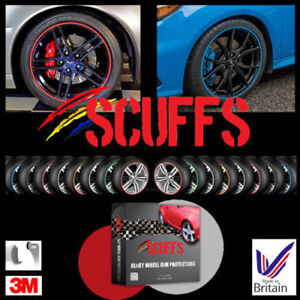 SCUFFS by Rimblades Alloy Wheel Protector Protection 1 STRIP or ADD MORE 5Strips