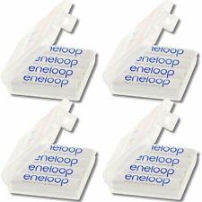 NEW confezione 16 Stilo Bianche HQ Ricaricabili Sanyo Eneloop AA Size  2000 mAH