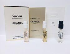 Set of 3: Chanel Gabrielle Essence + Chanel COCO MADEMOISELLE + Chanel #5 L'Eau