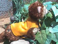 Ferret Reversible Thundershirt style Snuggie - Yellow Tie Dye