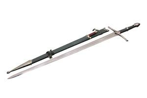 Aragorn Strider Ranger Sword with knife green color