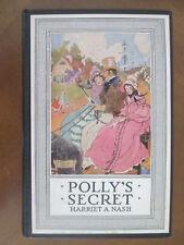 POLLY'S SECRET  by Harriet A. Nash ILLUS by Hattie Longstreet Price 1928 HB