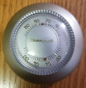 Honeywell Thermostat T87F 2873 Heating Round-Gold