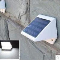 La energía solar del sensor de movimiento LED lampara luz jardin impermeable