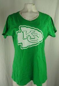 Kansas City Chiefs NFL Fanatics Women's V-Neck T-Shirt