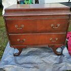 Vintage Antique Mahogany Dresser Or Buffet Server w/ Claw Feet Queen Anne Style?