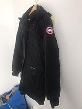 Canada Goose Trillium Black Parka Coat Jacket Ladies Large