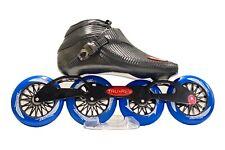 Trurev Carbon Fiber Pro Inline Speed Skate - 4 Wheel Switch Blade Frame