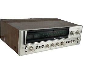 SANSUI 881 VINTAGE AM/FM STEREO RECEIVER SERVICED 60WPC * NICE!