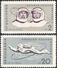"Bulgaria 1965 Space/Astronauts/""Voskhod 2""/Leonov Space Walk  2v set (n28995)"