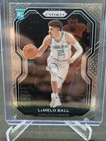 2020-21 Panini Prizm Lamelo Ball Base Rookie RC Charlotte Hornets #278 Hornets🔥