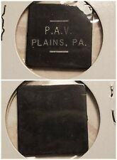 P A V Polish Am Vets Plains PA good for ? in trade token gft583 R4 VERY RARE