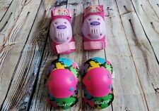 Girls Knee and Elbow Pads Disney Princesses and Razor Size S Multicolor