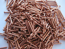 "1/16"" dia copper rivets 1/2"" Long Round head solid rivets Model steam Boiler"